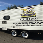 Make your fumigation process easier - rent our trailer and stay at your property